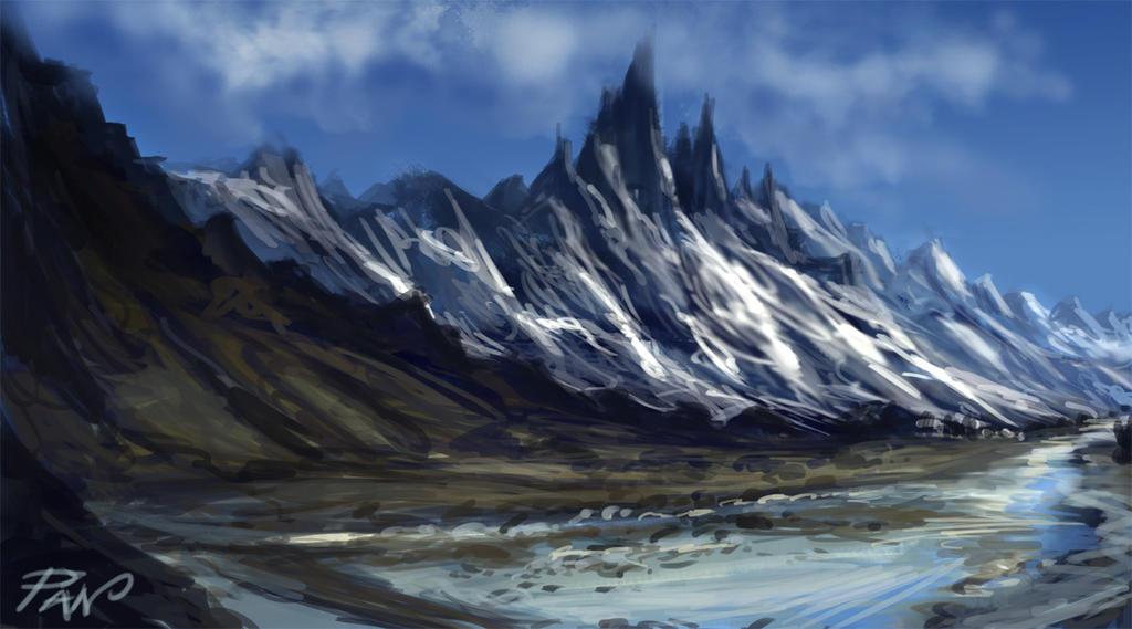 Landscape #01 by Panaiotis