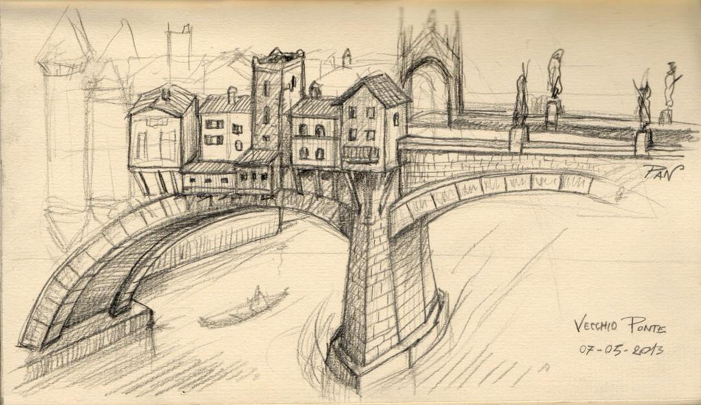 Old Bridge by Panaiotis