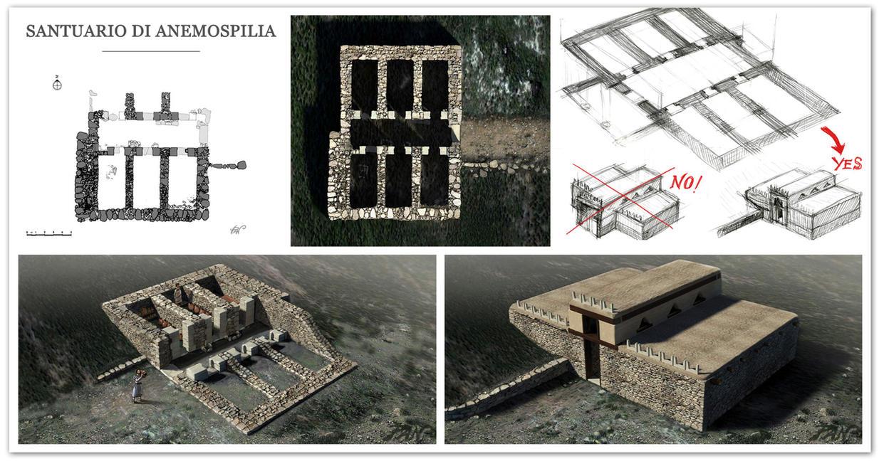 Anemospilia sanctuary by Panaiotis