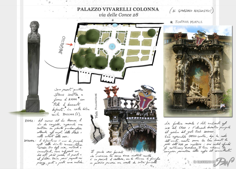 Palazzo Vivarelli Colonna's garden by Panaiotis