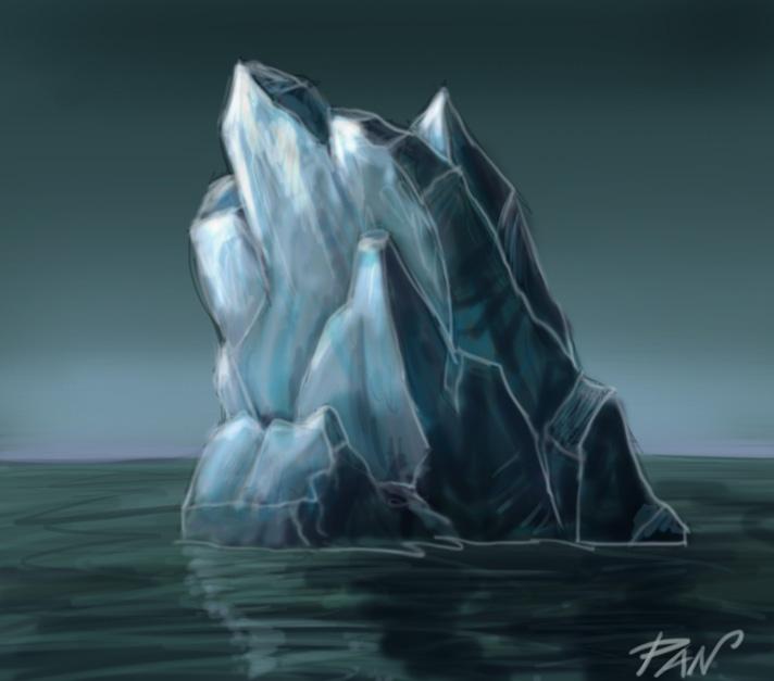 Iceberg (video tutorial) by Panaiotis
