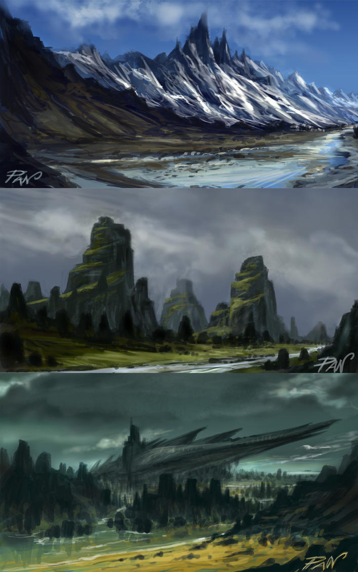 Landscapes Fantasy by Panaiotis