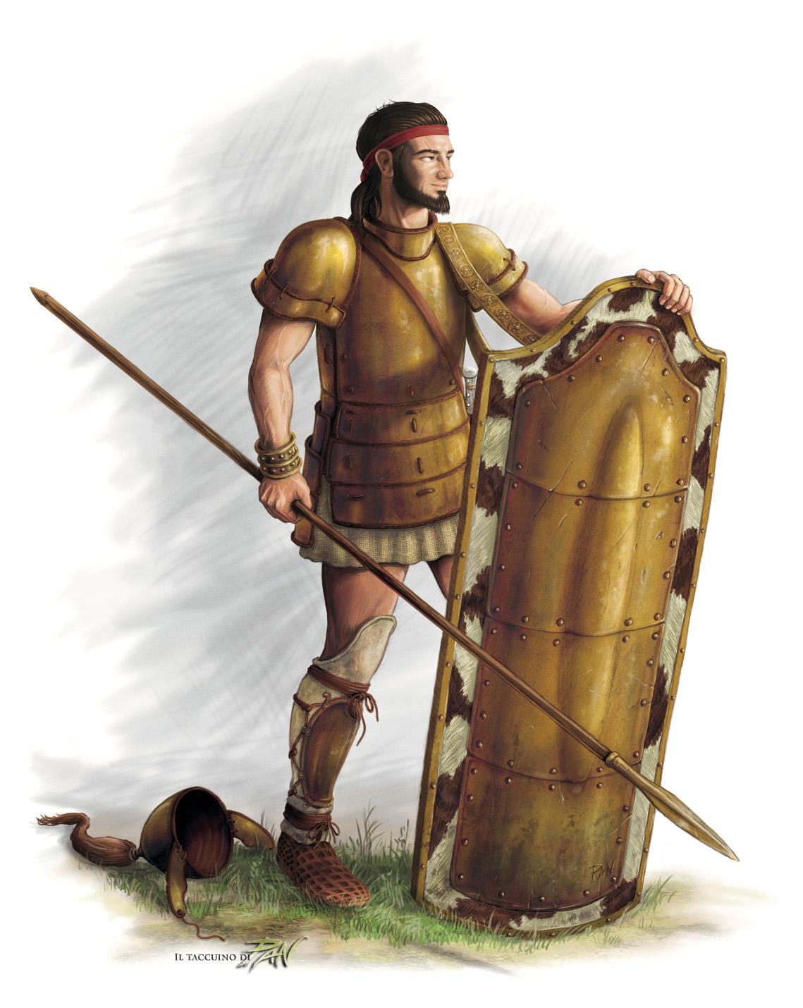 Aiace figlio di Telamone by Panaiotis