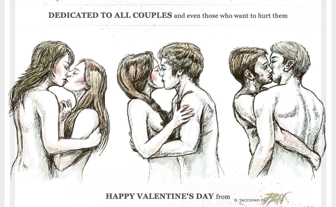 Dedica per San Valentino by Panaiotis