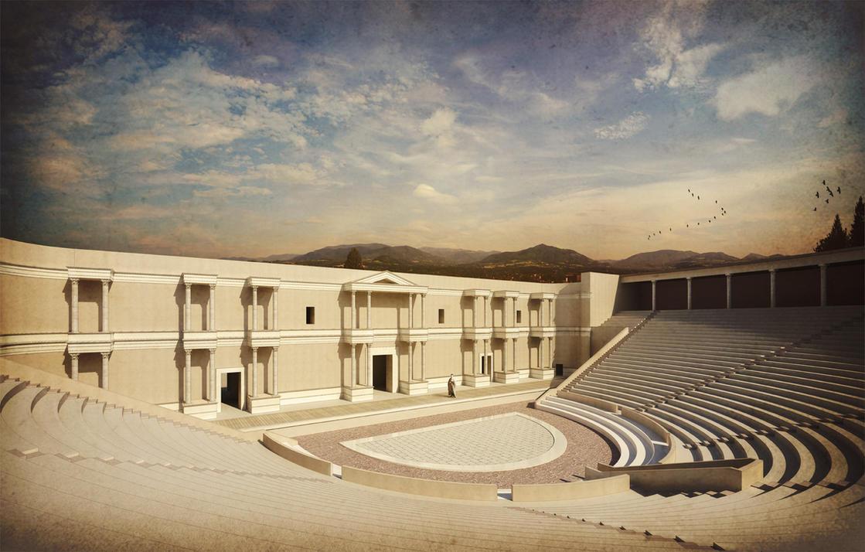 Teatro Romano - PaN by Panaiotis
