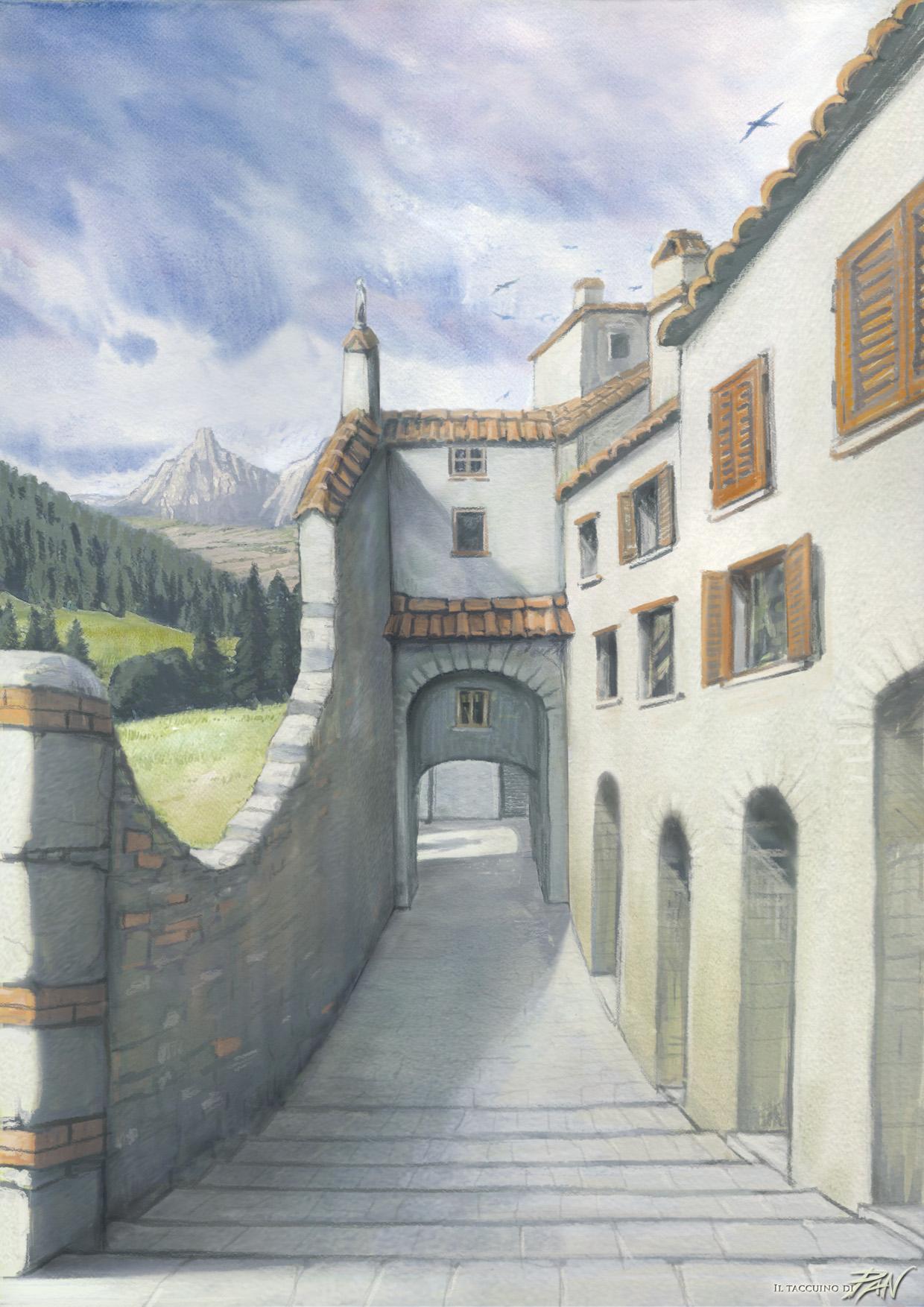 Oltre il Muro by Panaiotis