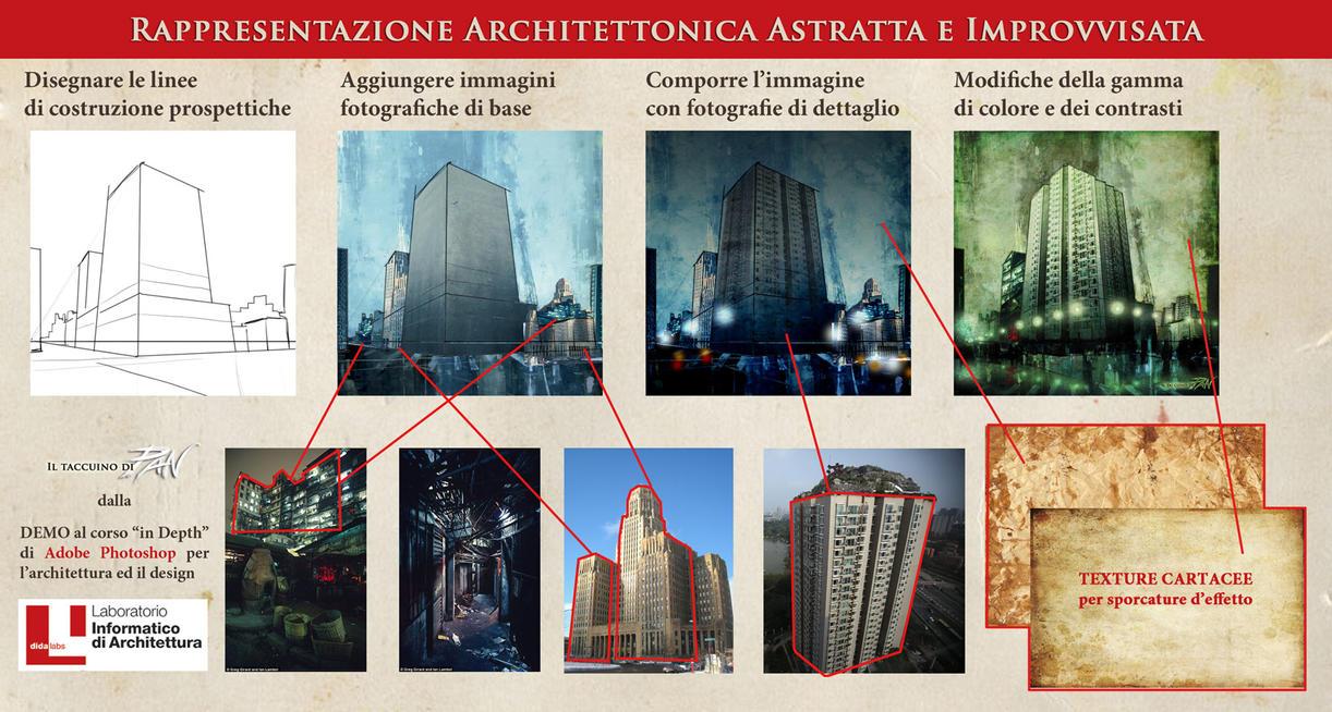 Architetture Improvvisate e Astratte by Panaiotis