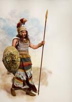 Athena - Mycenaean Athana potniya by Panaiotis
