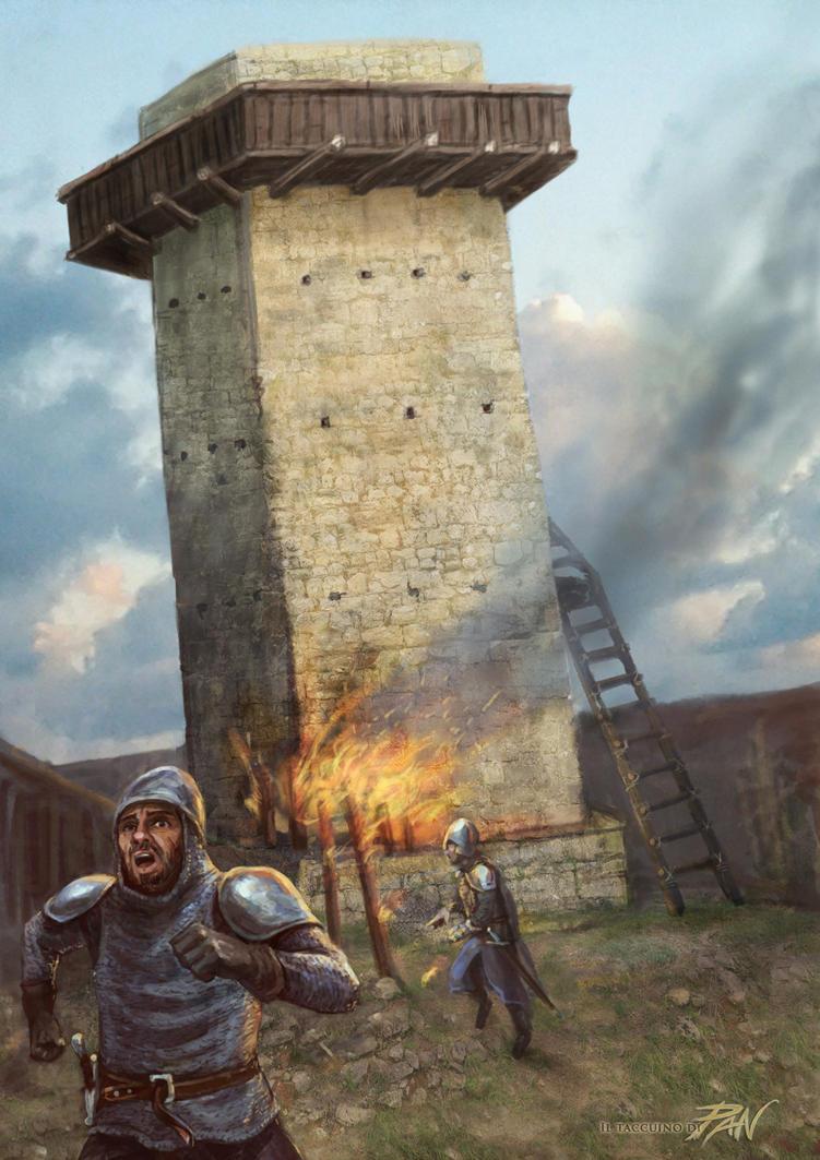 Abbattimento Torre by Panaiotis