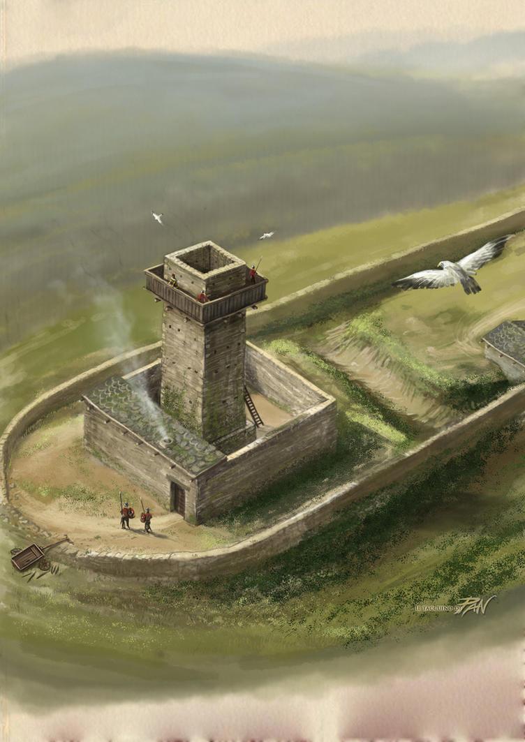 Ricostruzione Torre a Monte by Panaiotis