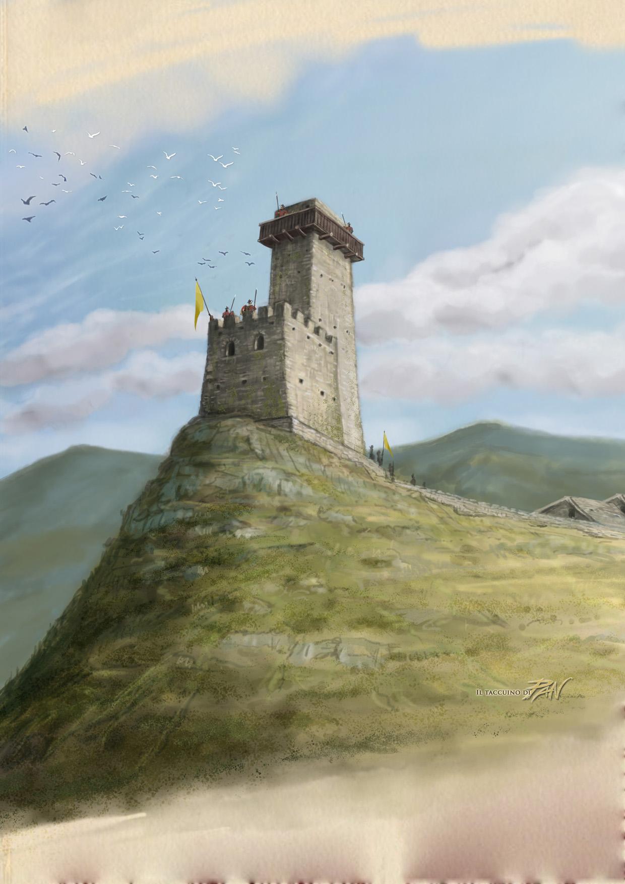 Ricostruzione Torre Mare by Panaiotis
