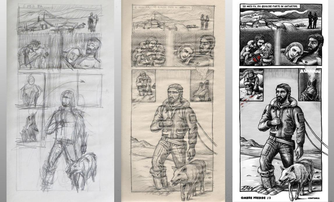 Sketch Pencil Ink by Panaiotis