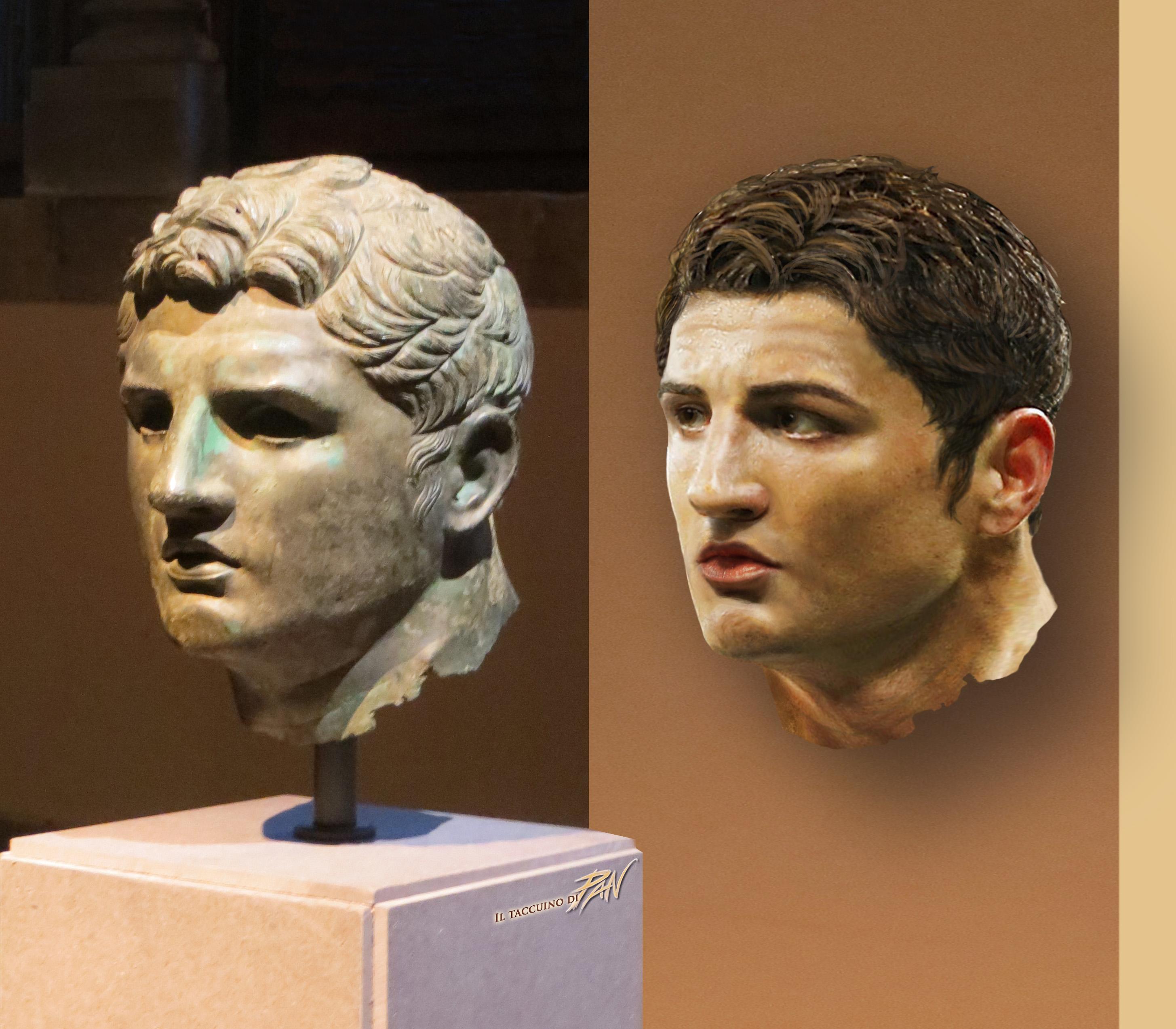 Atleti di Bronzo (ricostruzione digitale) by Panaiotis