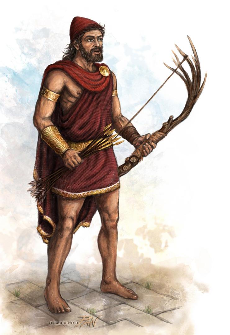 Odisseo, l'uomo dalla mente dai mille colori by Panaiotis