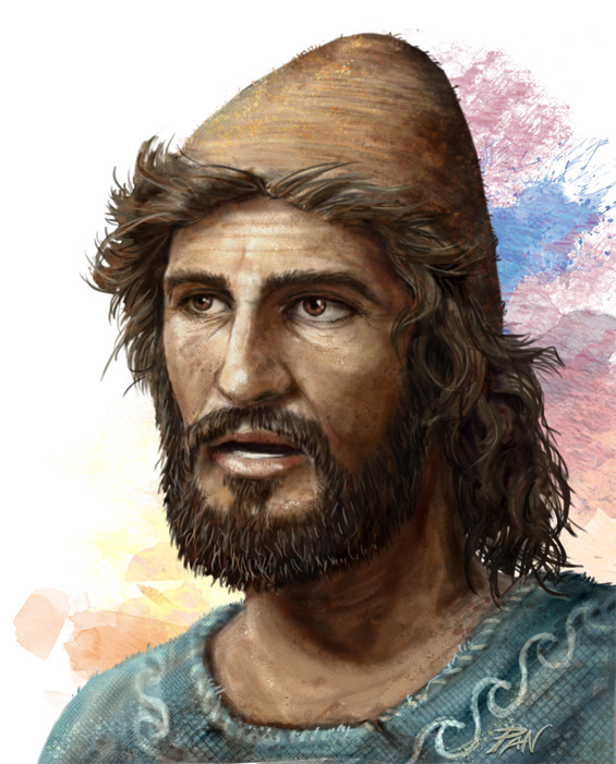 Odisseo, l'uomo dalla mente colorata by Panaiotis