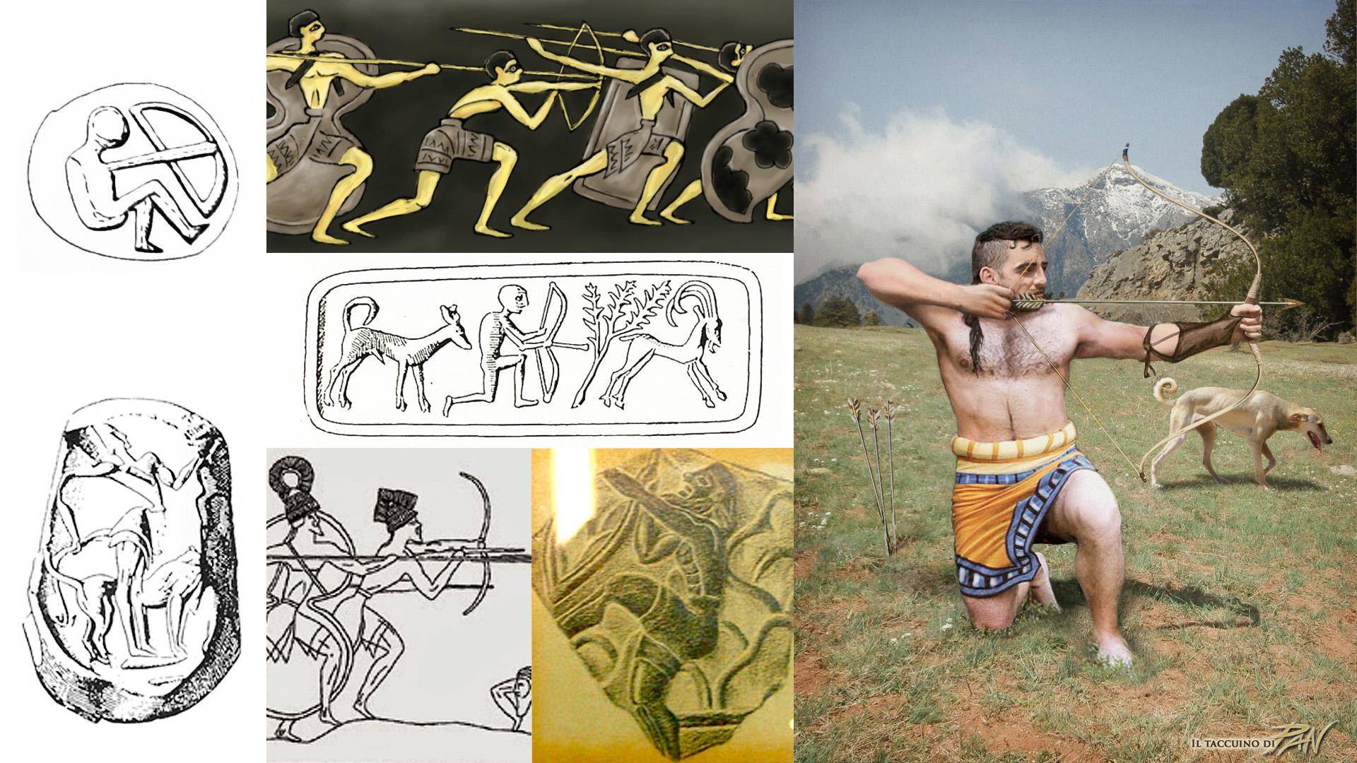 Minoan Crafts (Archer) by Panaiotis