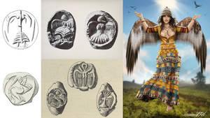 Minoan Eagle Lady (ancient divinity)