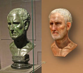 Bronze portrait