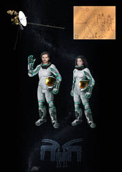 Space journey of Paleo Pioneer