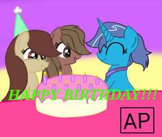Happy Birthday!!! by mlpariana