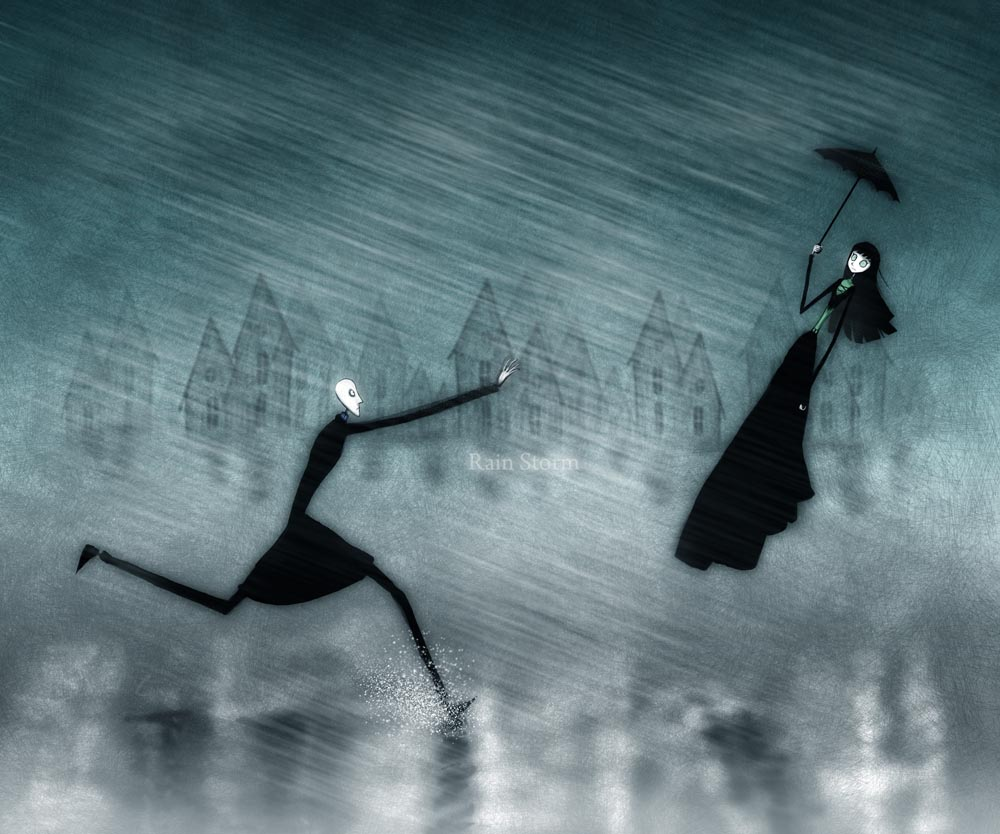Rain Storm By CottonValent On DeviantArt