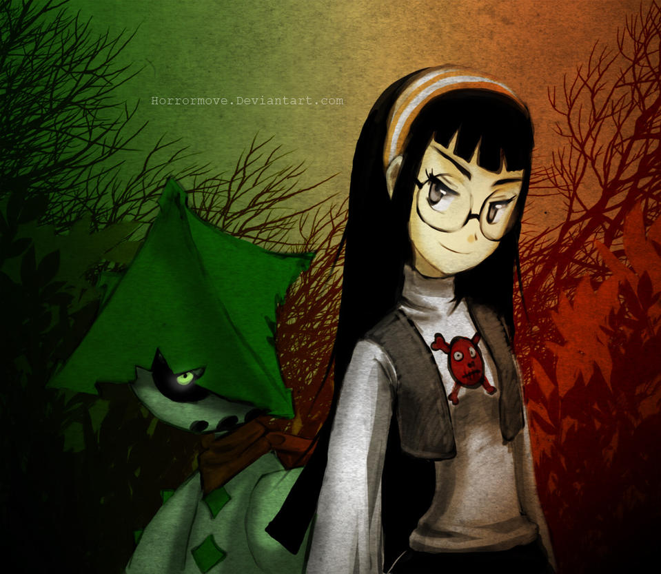 Cacturne and me by CottonValent on DeviantArt