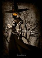 Pumpkin Witch by CottonValent
