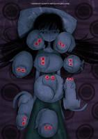 CreepyCat04 - 02 04 2014 by CottonValent