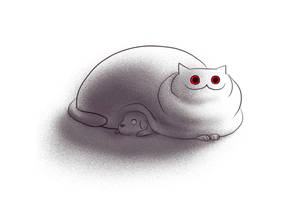 Creepy Cat 10 - Murderer by CottonValent