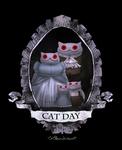 Creepy Cat 25 - Cat Day