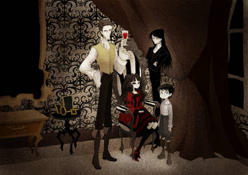 Vampire Home by CottonValent