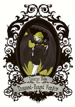 Loraine Reba The Thousand-Fanged Vampire