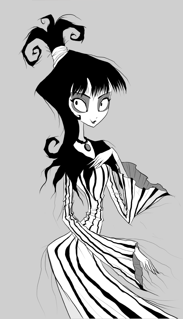 Lydia Deetz by CottonValent