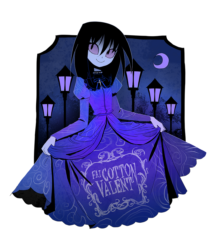 Velvet dress by CottonValent