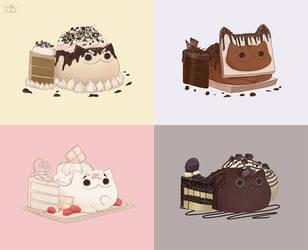 Meawbin Cakes by CottonValent