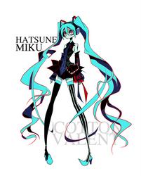 Hatsune Miku Redraw