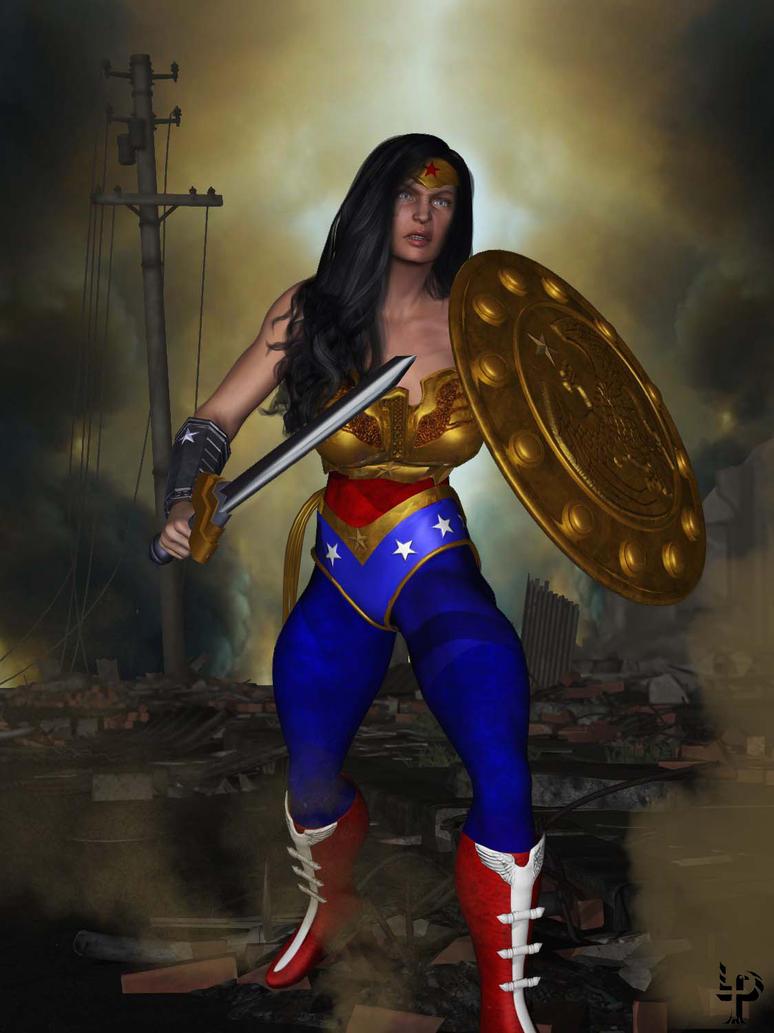 Wonder Woman (Injustice: Gods Among Us) by leroysquab on ...