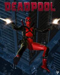 Deadpool by leroysquab