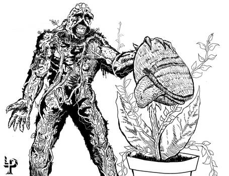Swamp Thing's New Pet