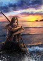 Lara Croft by Elistraie