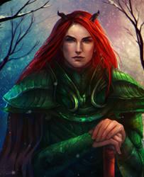 Frozen Flame by Elistraie