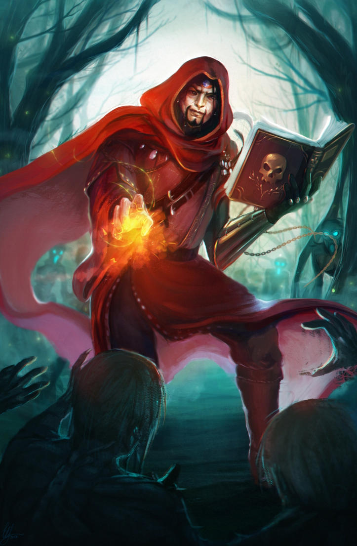 Red Wizard of Thay by Elistraie