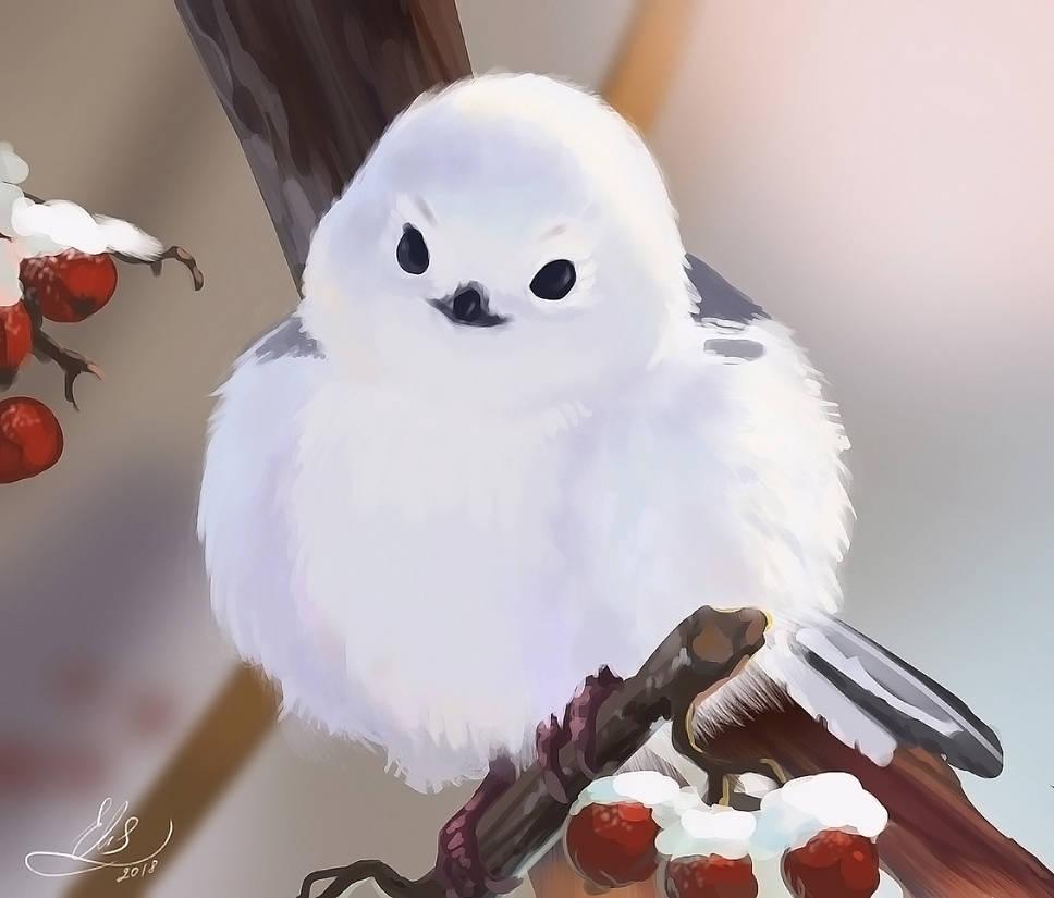 Birdie by Elistraie