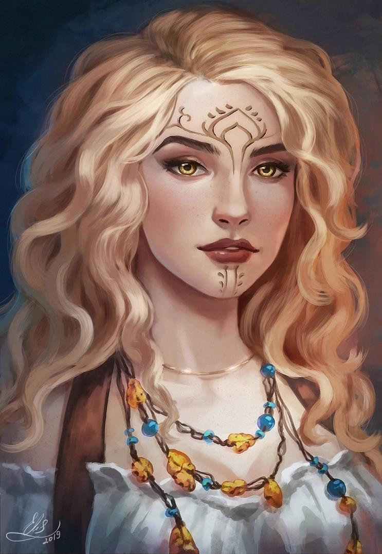 Character Portrait by Elistraie