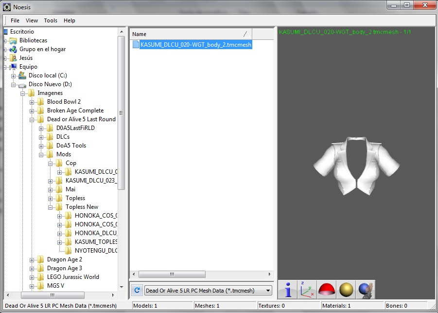 Editing Meshes Tutorial - Sfxt Mods