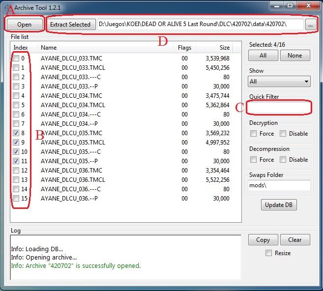 Installing DoA5 mods using lnk_reshuffle by Segadordelinks on DeviantArt
