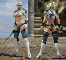 SC6 Mod - Echidna Costume by Segadordelinks
