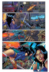 Grimm Fairy Tales Unleashed #1 page 20 colors by KoShiatar