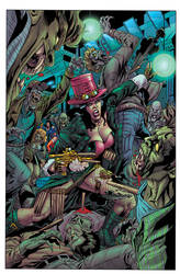 Grimm Fairy Tales Unleashed #1 page 21 colors