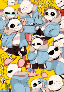 I looked at this. And it needs way more Sans